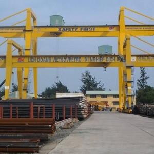 Cổng trục dầm đôi 30 tấn